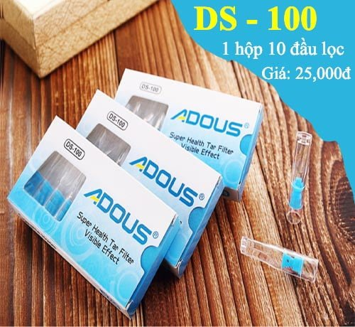 Đầu lọc thuốc lá DS-100 thiết kế đẹp