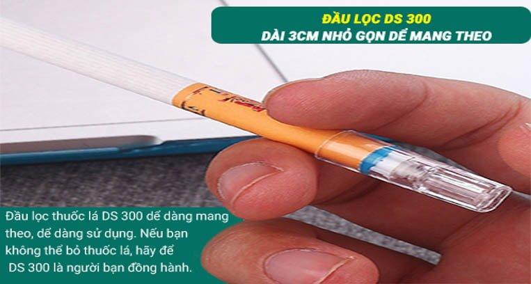 Đầu lọc thuốc lá khí nén Ds-200 tiện lợi - sang trọng