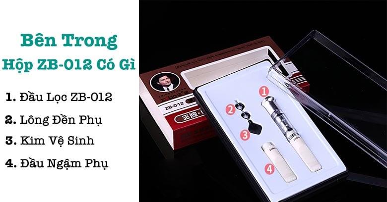 Hộp đựng đầu lọc thuốc lá ZoBo 012