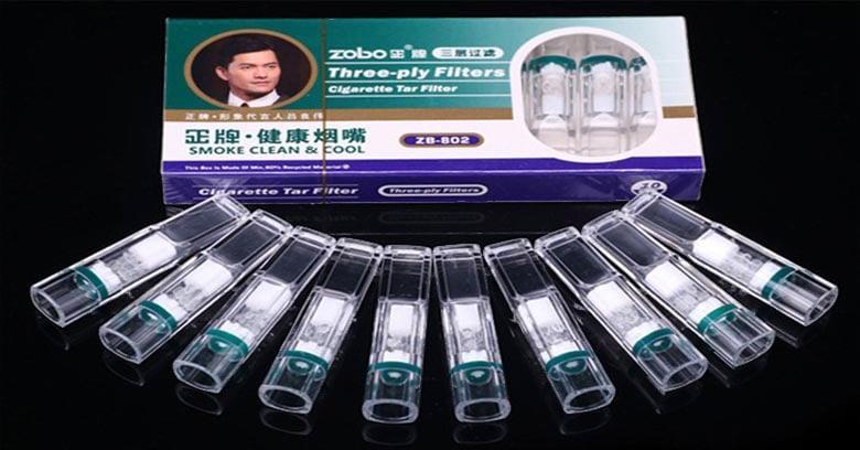 hộp nhỏ Đầu Lọc thuốc Lá Zb-802