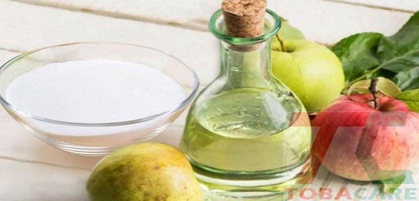 Giấm táo kết hợp baking soda khử mùi thuốc lá trong miệng hiệu quả cao