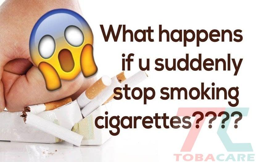 Ngừng thuốc lá đột ngột