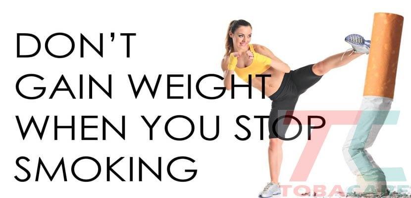 Ngừng hút thuốc lá có tăng cân không