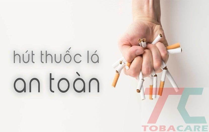 hút thuốc lá đúng cách