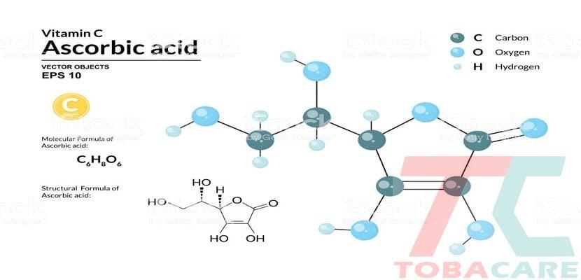 Công thức hoá học nicotine