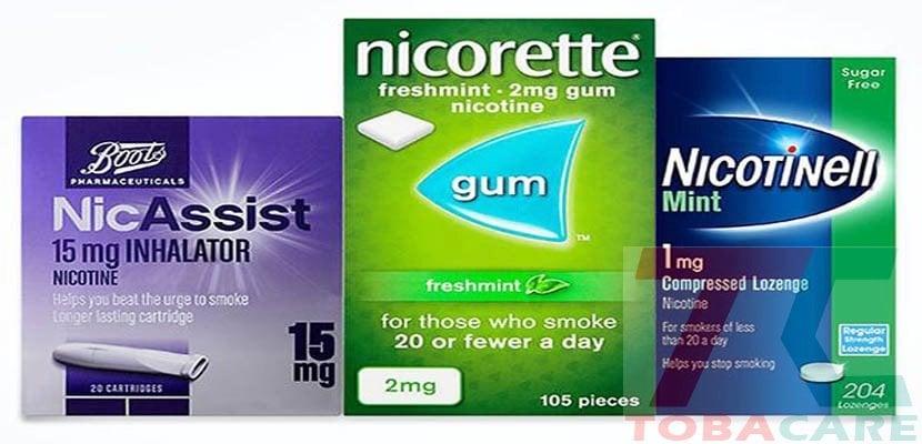 Tận dụng tối ta liệu pháp thay thế nicotine