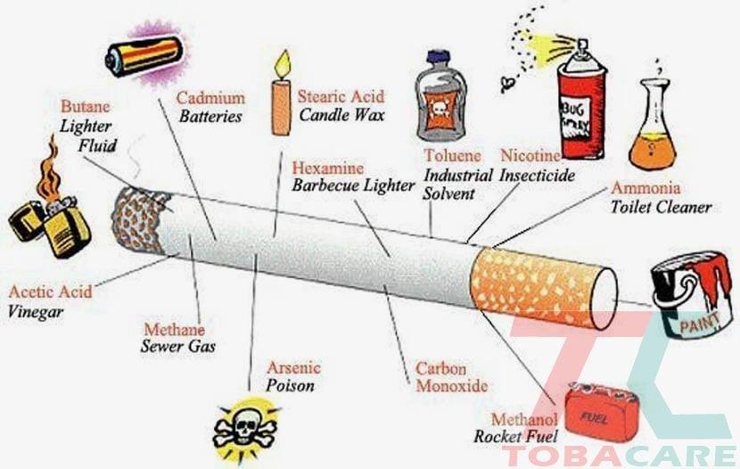 Tạc hại của thuốc lá
