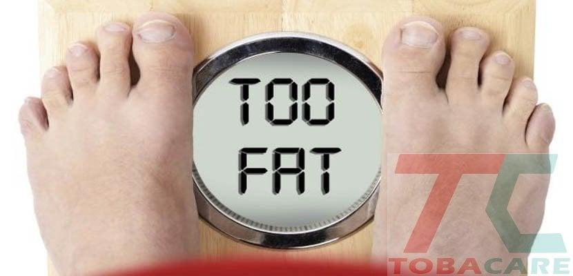 Tăng cân sau khi bỏ thuốc lá