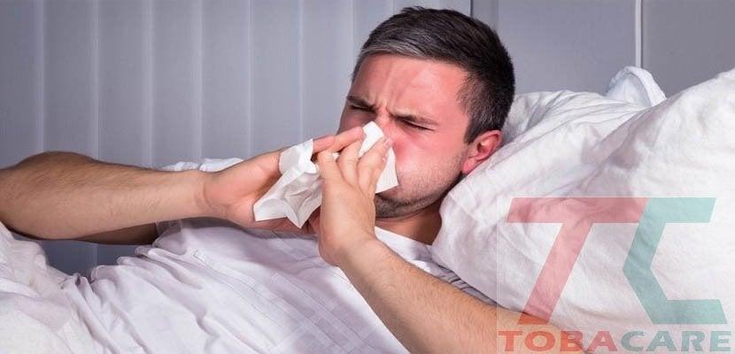 Triệu chứng khi cai thuốc lá giống bệnh cảm