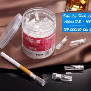 Đầu lọc thuốc lá ds100 hộp tròn