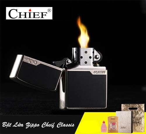 Bật lửa zippo Chief Classis sang trọng