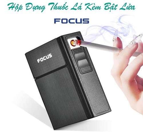 Hộp đựng thuốc lá bật lửa từ Focus