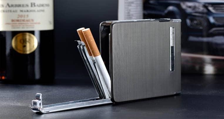 Khe bỏ thuốc vào hộp đựng thuốc lá Lighter