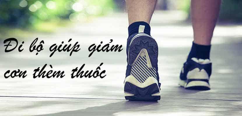 Đi dạo giúp giảm cơn thèm thuốc trong vòng 5 phút