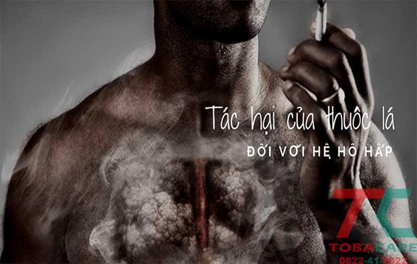Tác hại của thuốc lá đối với hệ hô hấp bên trong cơ thể của bạn