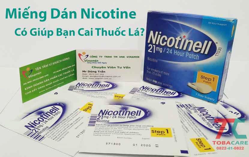 Miếng dán nicotine là gì?