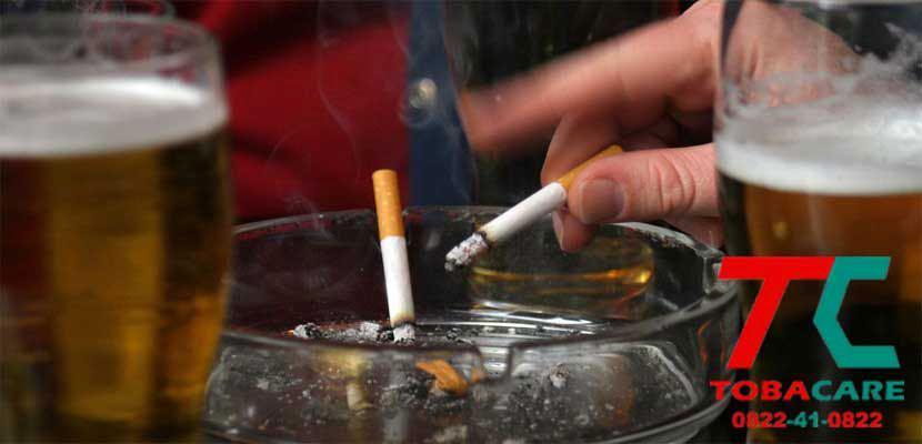 Mối liên hệ rượu bia và thuốc lá