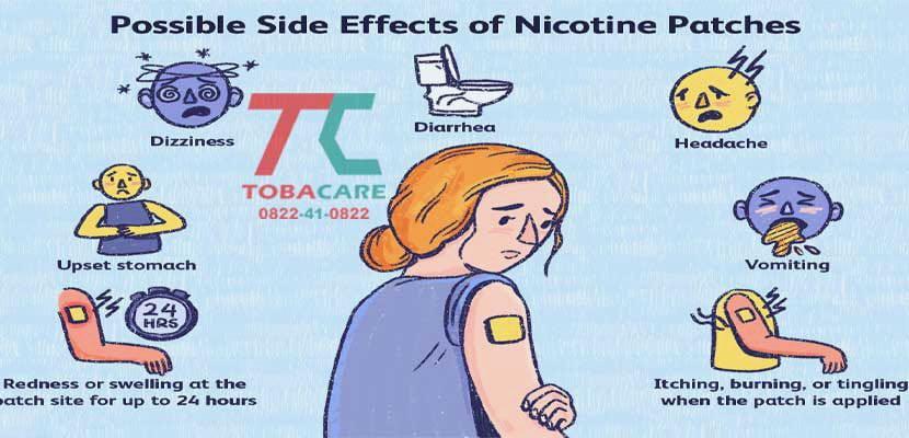Những triệu chứng, tác dụng phụ khi sử dụng miếng dán nicotine