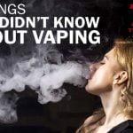 Tác hại của thuốc lá điện tử đối với cơ thể