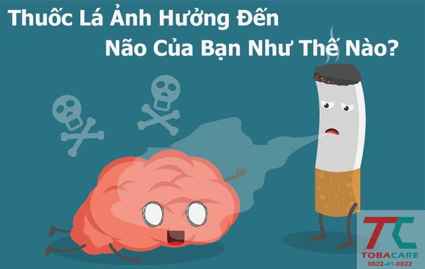 Ảnh hưởng của thuốc lá đối với bộ não của bạn
