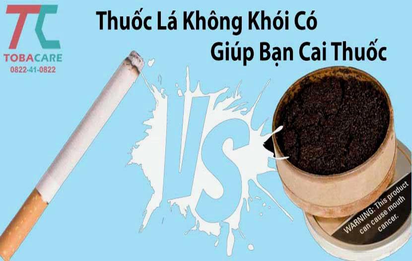 Thuốc lá không khói có giúp bạn cai thuốc lá hiệu quả