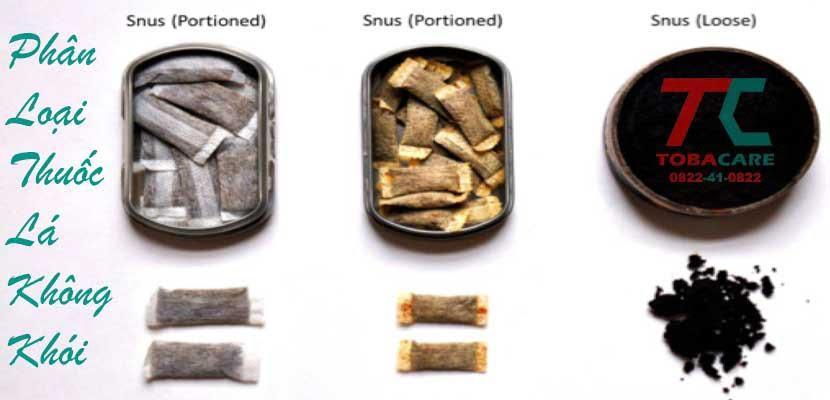 Phân loại thuốc lá không khói