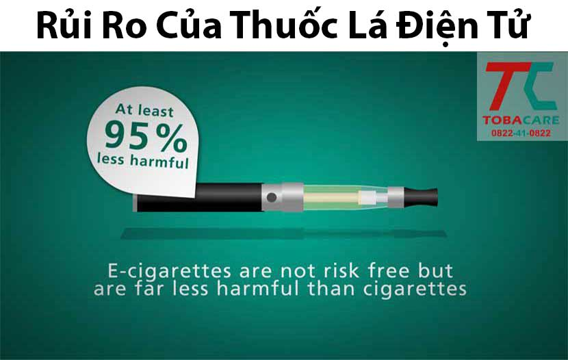 Rủi ro thuốc lá điện tử mang lại