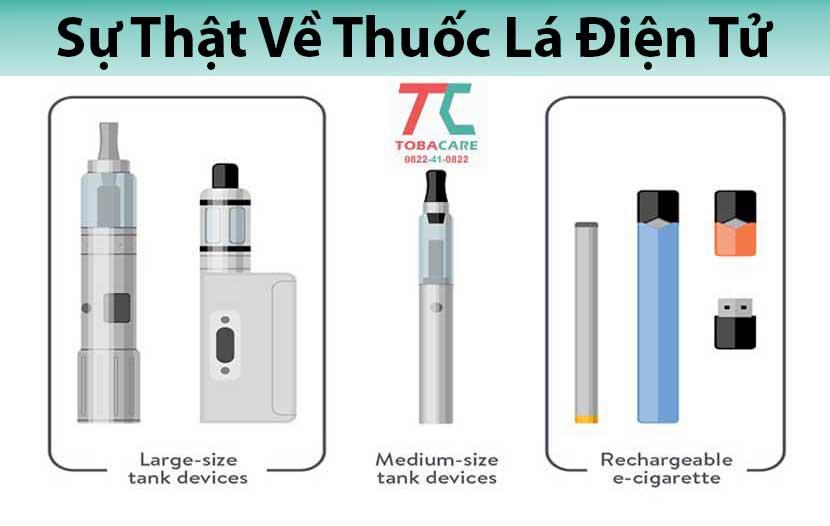 Sự thật về thuốc lá điện tử