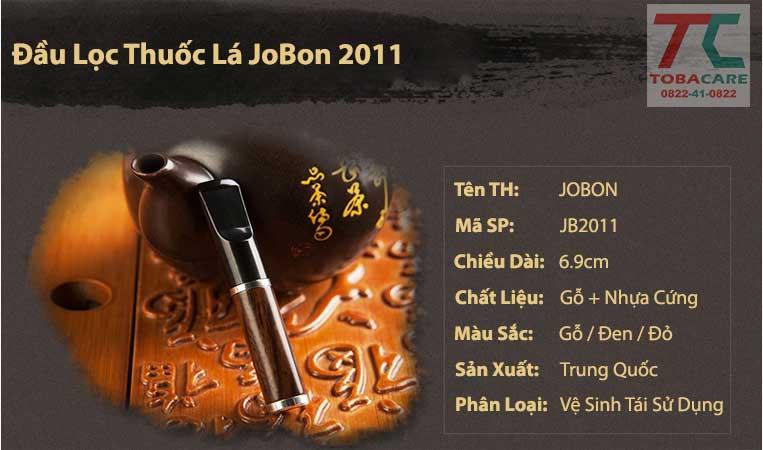 đầu lọc thuốc jobon 2011