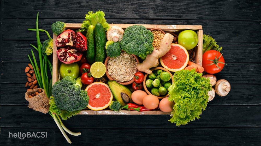 các loại rau củ quả