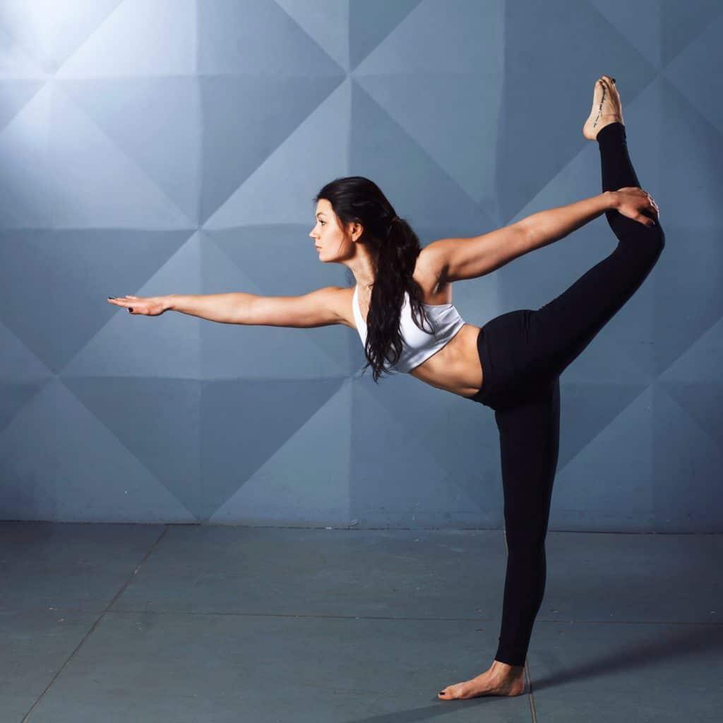 một động tác yoga