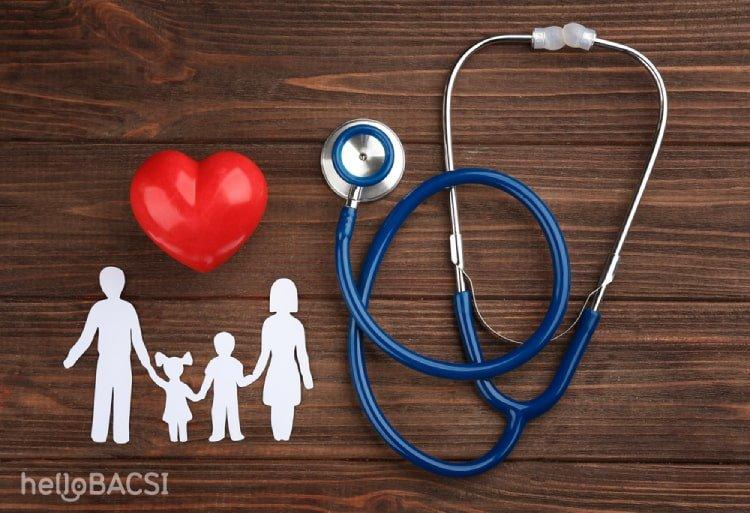 dụng cụ đo huyết áp và quả tim