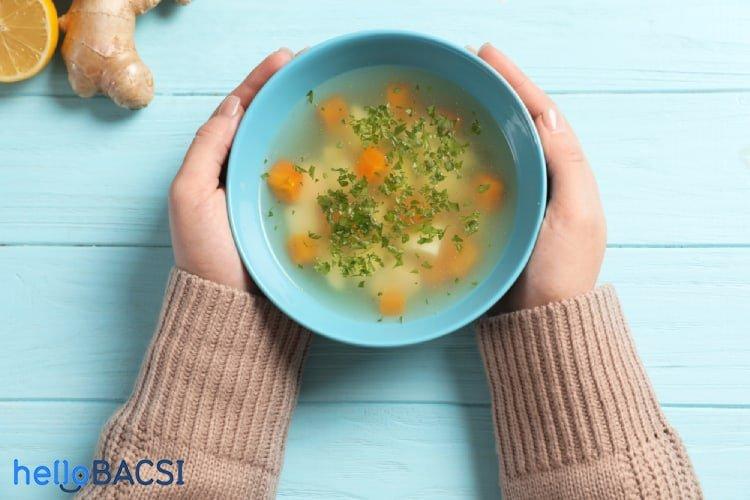9 thực phẩm không thể bỏ qua khi bị cảm cúm