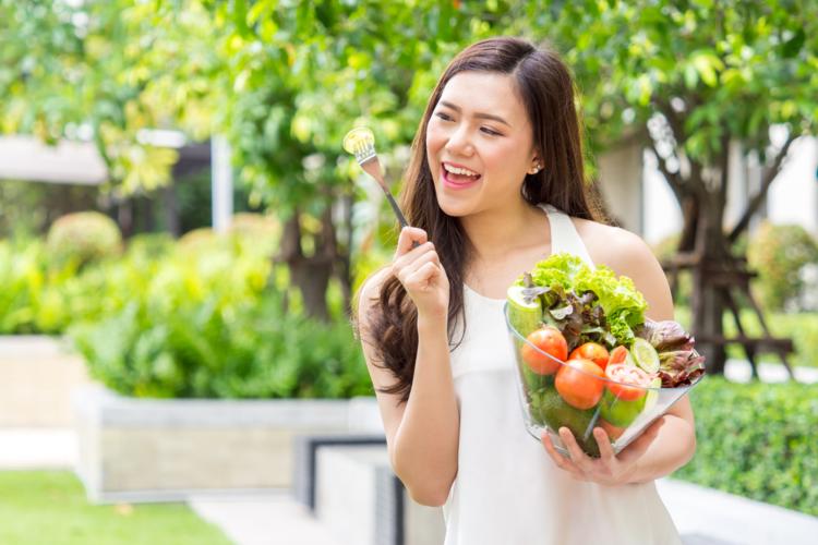 Chế độ ăn uống nhiều rau giúp kiểm soát đường huyết