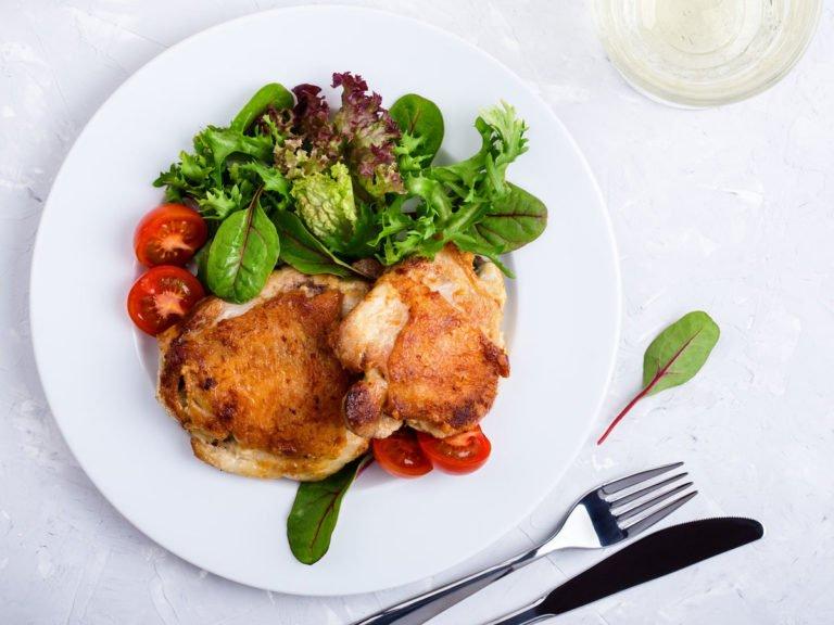 Bệnh cao huyết áp không ăn gì da gà