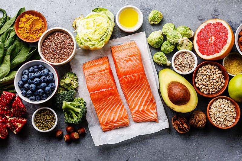 Chú trọng chế độ ăn uống