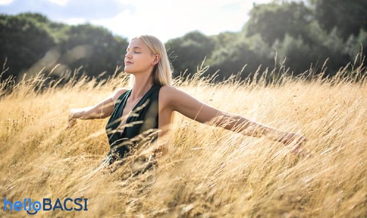 Chức năng của phổi sẽ cải thiện nếu bạn tập thở đúng cách