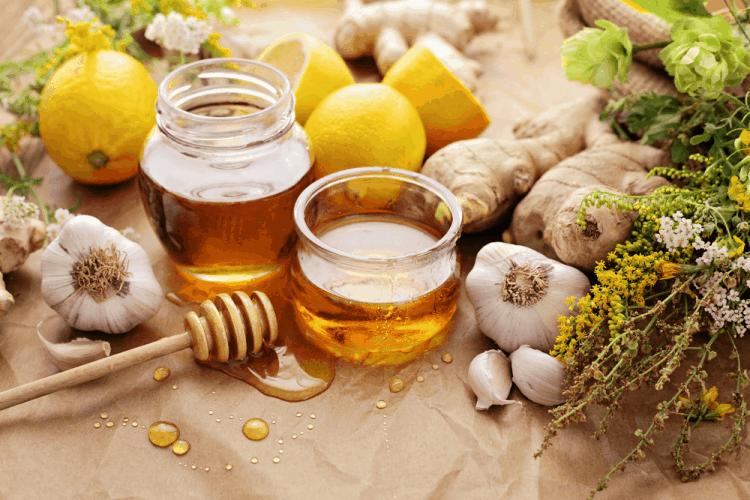 Công thức tỏi ngâm mật ong trị cảm cúm