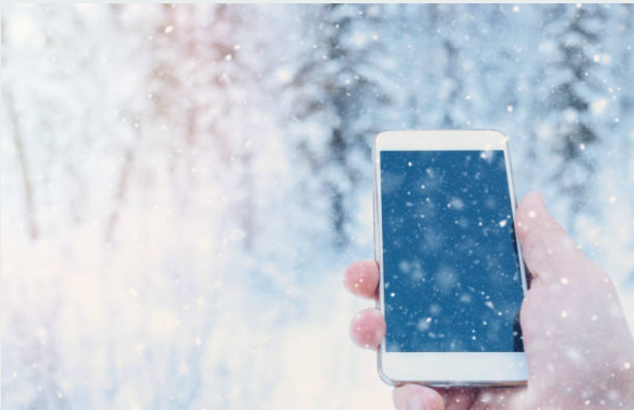 Đặt điện thoại ở những nơi quá lạnh