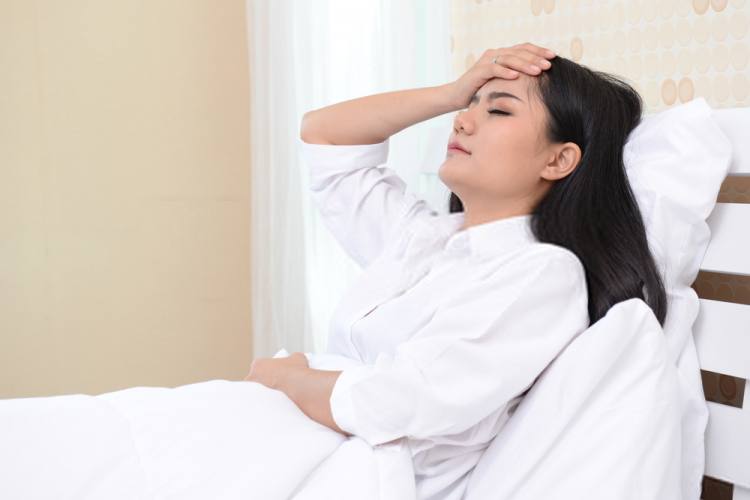 khó ngủ có thể là triệu chứng hen suyễn