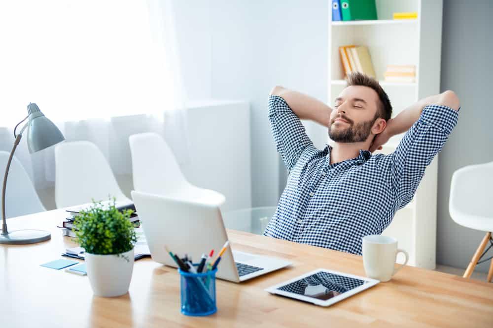Thư giãn cũng là một cách chữa hội chứng ống cổ tay