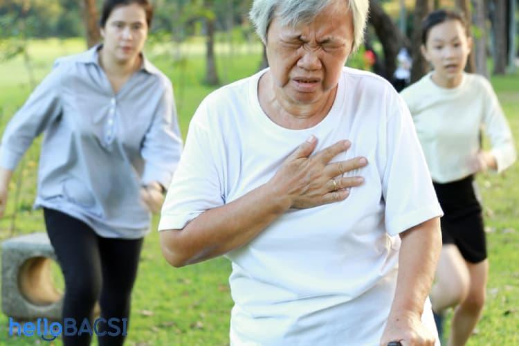triệu chứng thở nông