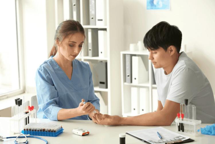 Kiểm tra lượng đường trong máu cao