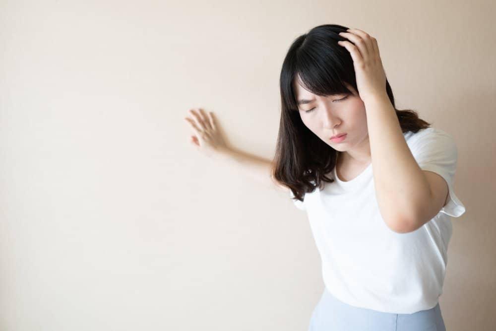 Mất thăng bằng là triệu chứng rối loạn tiền đình