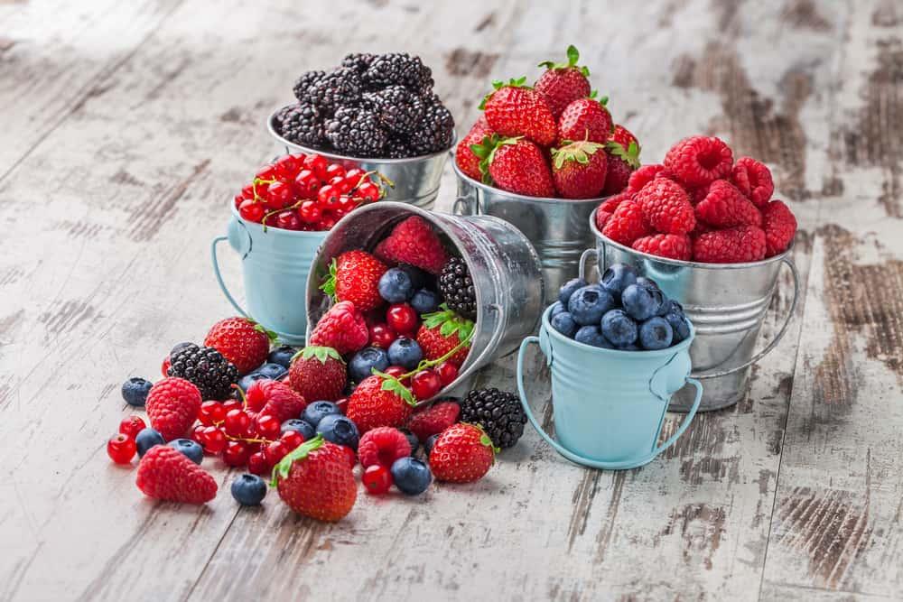 người bệnh tim nên ăn các loại quả mọng