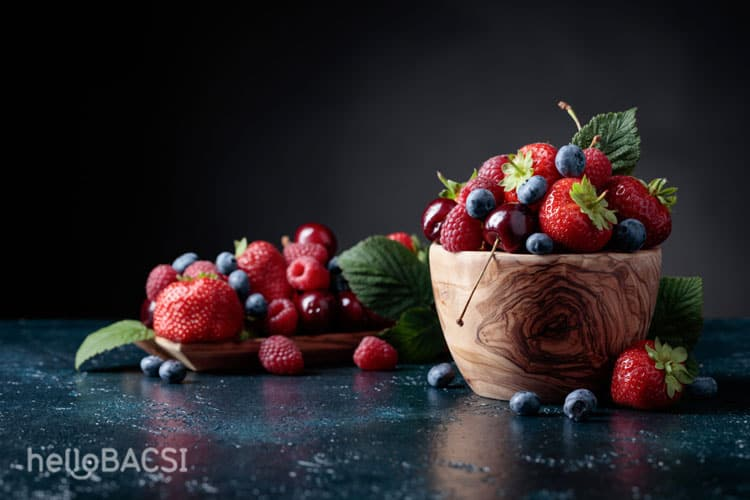 quả mọng thực phẩm tốt cho não