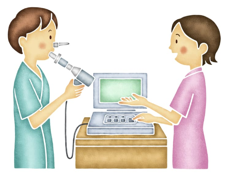 Quy trình thực hiện hô hấp ký