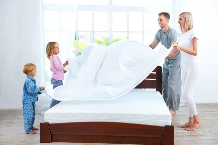 vệ sinh giường nệm