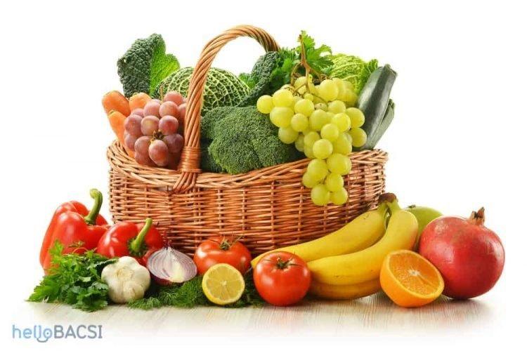 7 loại rau quả người rối loạn tiền đình không nên bỏ qua