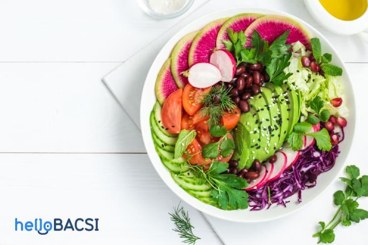 Ăn nhiều rau quả để phòng ngừa bệnh tim